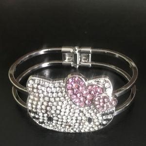 0e866ca4356aad Women s Hello Kitty Crystal Bracelet on Poshmark